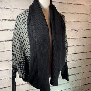{Express} batwing sleeve sweater cardigan